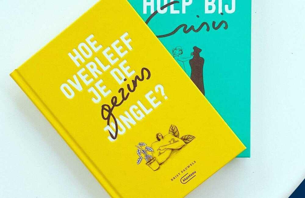 Twee nieuwe boeken van Krist Pauwels. Alstublieft.