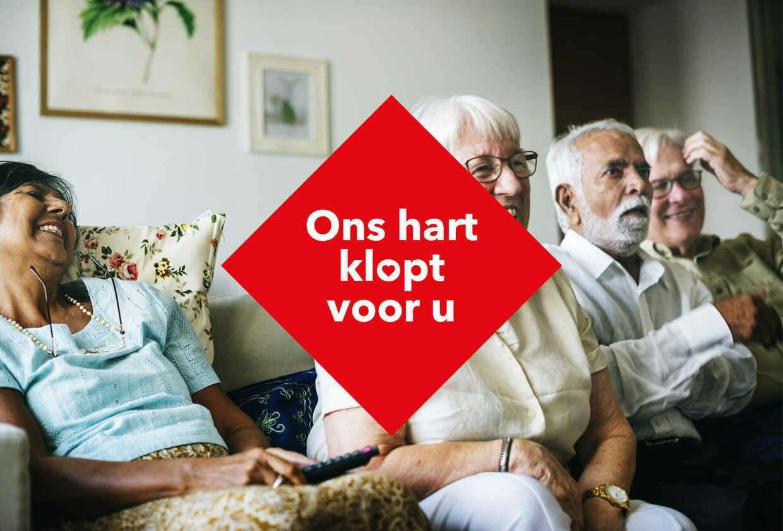 Choco's hart klopt voor Zorgnet-Icuro en de ouderenzorg